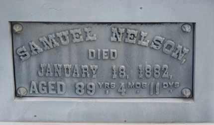NELSON, SAMUEL - Delaware County, Ohio | SAMUEL NELSON - Ohio Gravestone Photos