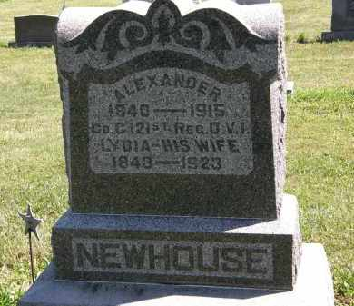 NEWHOUSE, LYDIA - Delaware County, Ohio | LYDIA NEWHOUSE - Ohio Gravestone Photos