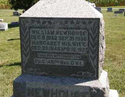 NEWHOUSE, WILLIAM - Delaware County, Ohio | WILLIAM NEWHOUSE - Ohio Gravestone Photos