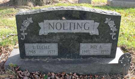 NOLTING, ELOISE LUCILLE - Delaware County, Ohio | ELOISE LUCILLE NOLTING - Ohio Gravestone Photos