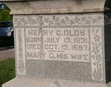 OLDS, MARY C. - Delaware County, Ohio | MARY C. OLDS - Ohio Gravestone Photos