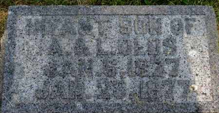 OLDS, INFANT SON - Delaware County, Ohio | INFANT SON OLDS - Ohio Gravestone Photos