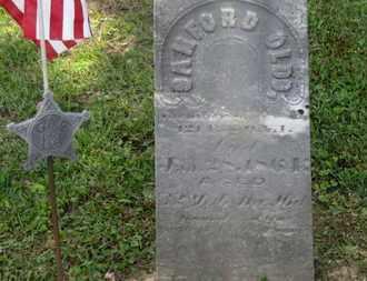 OLDS, SANFORD - Delaware County, Ohio | SANFORD OLDS - Ohio Gravestone Photos