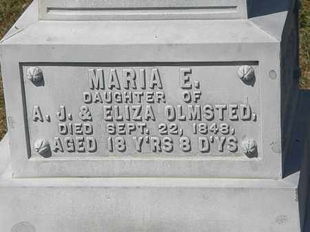 OLMSTED, MARIA E. - Delaware County, Ohio | MARIA E. OLMSTED - Ohio Gravestone Photos