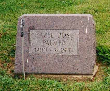 POST PALMER, HAZEL - Delaware County, Ohio | HAZEL POST PALMER - Ohio Gravestone Photos