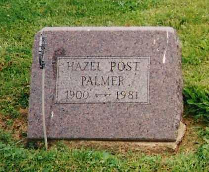 PALMER, HAZEL - Delaware County, Ohio | HAZEL PALMER - Ohio Gravestone Photos
