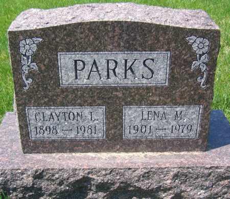 PARKS, LENA M. - Delaware County, Ohio | LENA M. PARKS - Ohio Gravestone Photos
