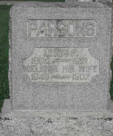 PARSONS, LEWIS F. - Delaware County, Ohio | LEWIS F. PARSONS - Ohio Gravestone Photos