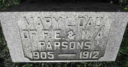 PARSONS, MARY L. - Delaware County, Ohio | MARY L. PARSONS - Ohio Gravestone Photos