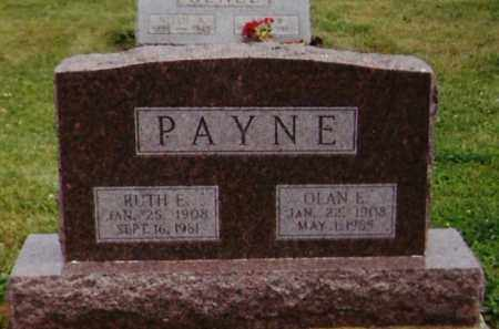 PAYNE, RUTH E. - Delaware County, Ohio | RUTH E. PAYNE - Ohio Gravestone Photos