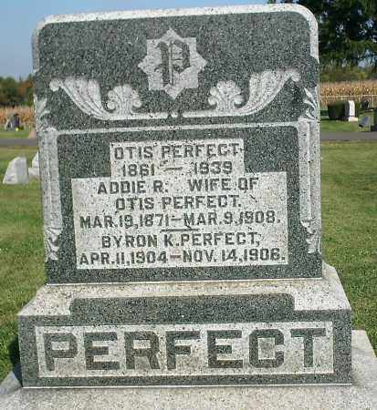 PERFECT, OTIS - Delaware County, Ohio | OTIS PERFECT - Ohio Gravestone Photos