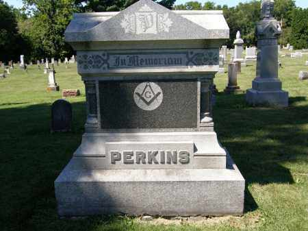 PERKINS, FAMILY MONUMENT - Delaware County, Ohio | FAMILY MONUMENT PERKINS - Ohio Gravestone Photos