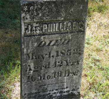 PHILLIANS, JAS. - Delaware County, Ohio | JAS. PHILLIANS - Ohio Gravestone Photos