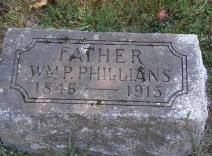 PHILLIANS, WM. P. - Delaware County, Ohio | WM. P. PHILLIANS - Ohio Gravestone Photos