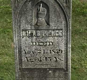 PIERCE, SILAS - Delaware County, Ohio | SILAS PIERCE - Ohio Gravestone Photos