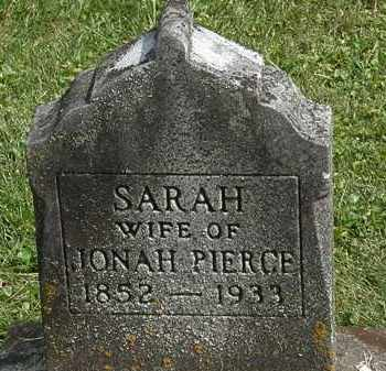 PIERCE, SARAH - Delaware County, Ohio | SARAH PIERCE - Ohio Gravestone Photos