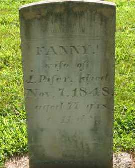PIFER, FANNY - Delaware County, Ohio | FANNY PIFER - Ohio Gravestone Photos