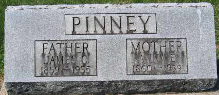 PINNEY, JAMES C. - Delaware County, Ohio | JAMES C. PINNEY - Ohio Gravestone Photos