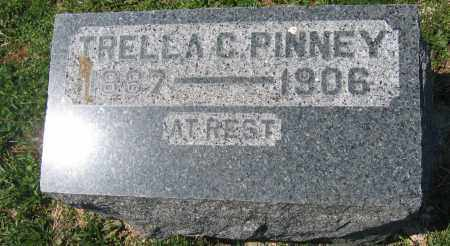 PINNEY, TRELLA C. - Delaware County, Ohio | TRELLA C. PINNEY - Ohio Gravestone Photos