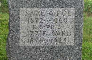 POE, ISAAC W. - Delaware County, Ohio | ISAAC W. POE - Ohio Gravestone Photos