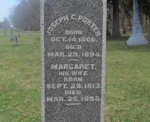 PORTER, MARGARET - Delaware County, Ohio | MARGARET PORTER - Ohio Gravestone Photos