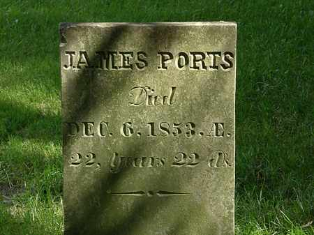 PORTS, JAMES - Delaware County, Ohio | JAMES PORTS - Ohio Gravestone Photos