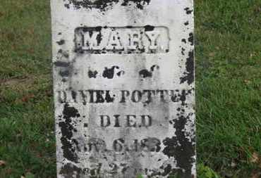 POTTER, MARY - Delaware County, Ohio | MARY POTTER - Ohio Gravestone Photos