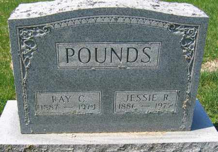 POUNDS, RAY C. - Delaware County, Ohio | RAY C. POUNDS - Ohio Gravestone Photos
