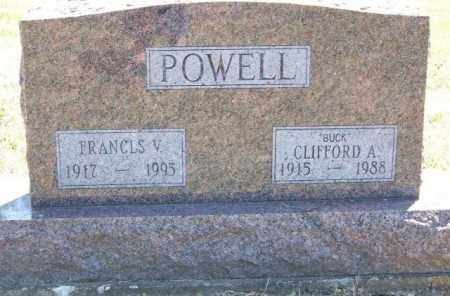 POWELL, CLIFFORD A 'BUCK' - Delaware County, Ohio | CLIFFORD A 'BUCK' POWELL - Ohio Gravestone Photos