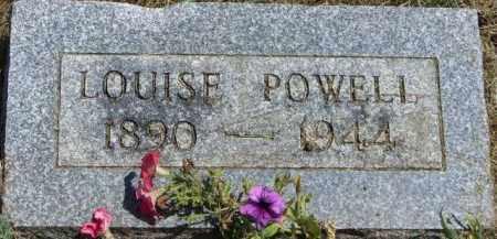 POWELL, SARAH LOUISE - Delaware County, Ohio | SARAH LOUISE POWELL - Ohio Gravestone Photos