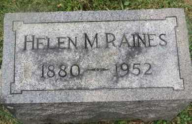 RAINES, HELEN M. - Delaware County, Ohio | HELEN M. RAINES - Ohio Gravestone Photos