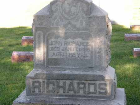 RICHARDS, JOHN - Delaware County, Ohio | JOHN RICHARDS - Ohio Gravestone Photos