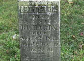 RICHARDS, OLIVER G. - Delaware County, Ohio | OLIVER G. RICHARDS - Ohio Gravestone Photos