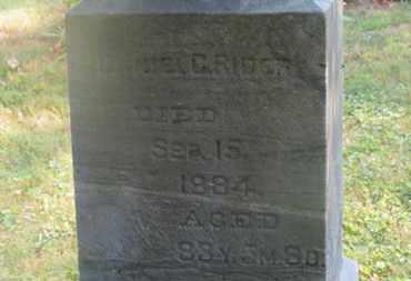 RIDER, DANIEL C. - Delaware County, Ohio | DANIEL C. RIDER - Ohio Gravestone Photos