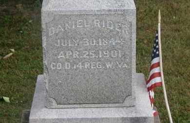 RIDER, DANIEL - Delaware County, Ohio | DANIEL RIDER - Ohio Gravestone Photos