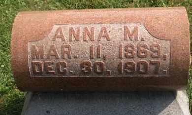 RINEHART, ANNA M. - Delaware County, Ohio | ANNA M. RINEHART - Ohio Gravestone Photos