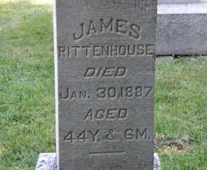 RITTENHOUSE, JAMES - Delaware County, Ohio | JAMES RITTENHOUSE - Ohio Gravestone Photos