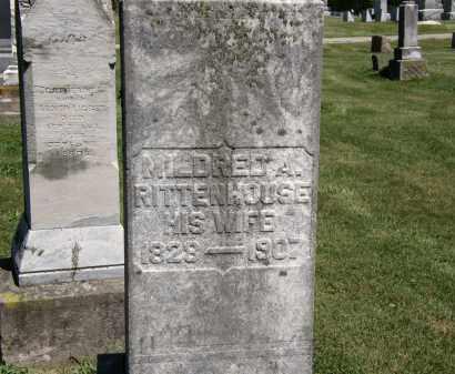 RITTENHOUSE, MILDRED A. - Delaware County, Ohio | MILDRED A. RITTENHOUSE - Ohio Gravestone Photos