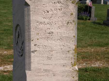 ROSETTE, MARY - Delaware County, Ohio | MARY ROSETTE - Ohio Gravestone Photos