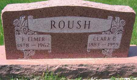 ROUSH, F. ELMER - Delaware County, Ohio | F. ELMER ROUSH - Ohio Gravestone Photos