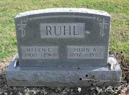 STEINMETZ RUHL, HELEN E. - Delaware County, Ohio | HELEN E. STEINMETZ RUHL - Ohio Gravestone Photos