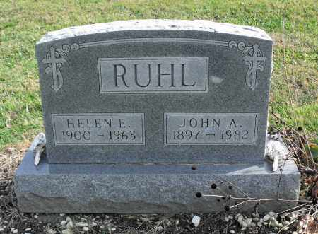 RUHL, JOHN ANDREW - Delaware County, Ohio | JOHN ANDREW RUHL - Ohio Gravestone Photos