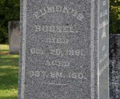 RUSSEL, EDMUND S. - Delaware County, Ohio | EDMUND S. RUSSEL - Ohio Gravestone Photos