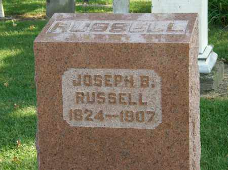 RUSSEL, JOSEPH B. - Delaware County, Ohio | JOSEPH B. RUSSEL - Ohio Gravestone Photos