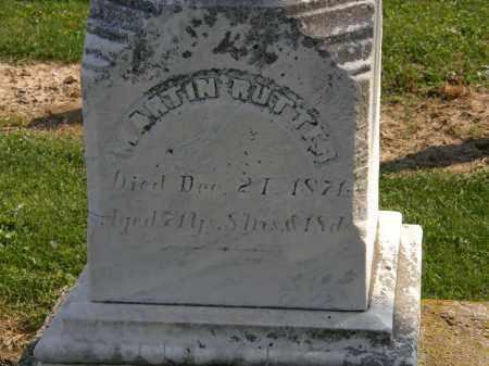 RUTTER, MARTIN - Delaware County, Ohio | MARTIN RUTTER - Ohio Gravestone Photos