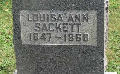 SACKETT, LOUISA ANN - Delaware County, Ohio | LOUISA ANN SACKETT - Ohio Gravestone Photos