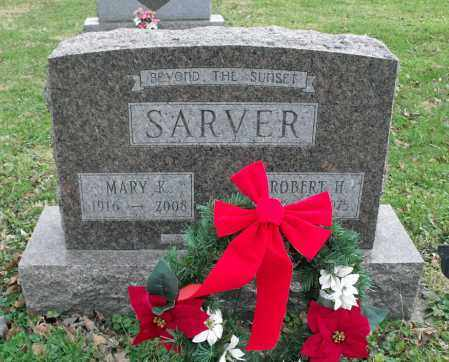 SARVER, ROBERT H. - Delaware County, Ohio | ROBERT H. SARVER - Ohio Gravestone Photos
