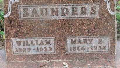 SAUNDERS, MARY E. - Delaware County, Ohio | MARY E. SAUNDERS - Ohio Gravestone Photos