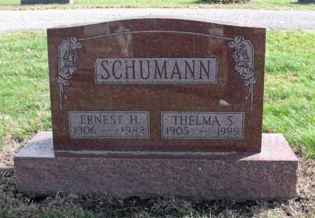 SCHUMANN, ERNEST H. - Delaware County, Ohio | ERNEST H. SCHUMANN - Ohio Gravestone Photos