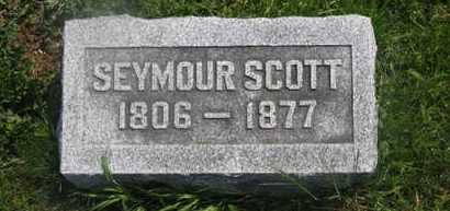 SCOTT, SEYMOER - Delaware County, Ohio | SEYMOER SCOTT - Ohio Gravestone Photos